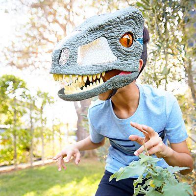 Máscara Interactiva De Velociraptor Jurassic World Falabellacom