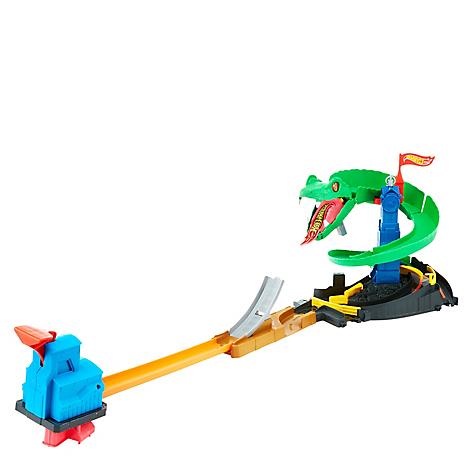Pista De Juego Hot Wheels Cobra Trituradora Falabella Com