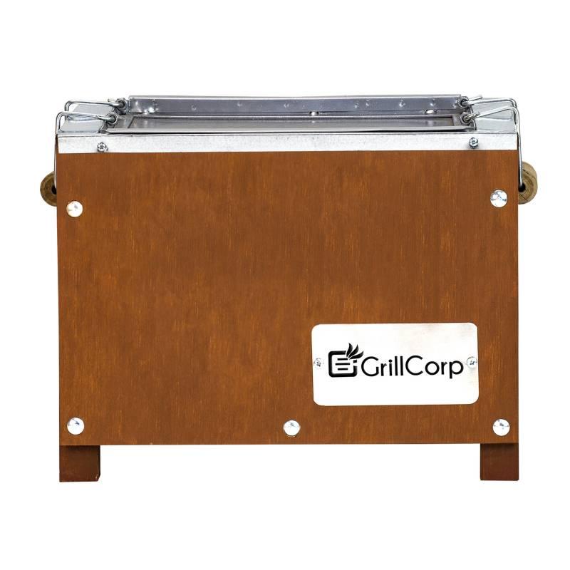 GRILLCORP - Caja China Mini 40 x 29 x 30 cm (capacidad para 3 kilos)