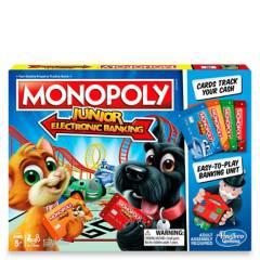 HASBRO GAMES - Monopoly Junior Banco Electrónico