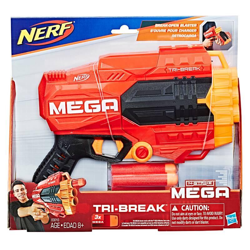 NERF - Lanzador N-Strike Mega Tri-Break