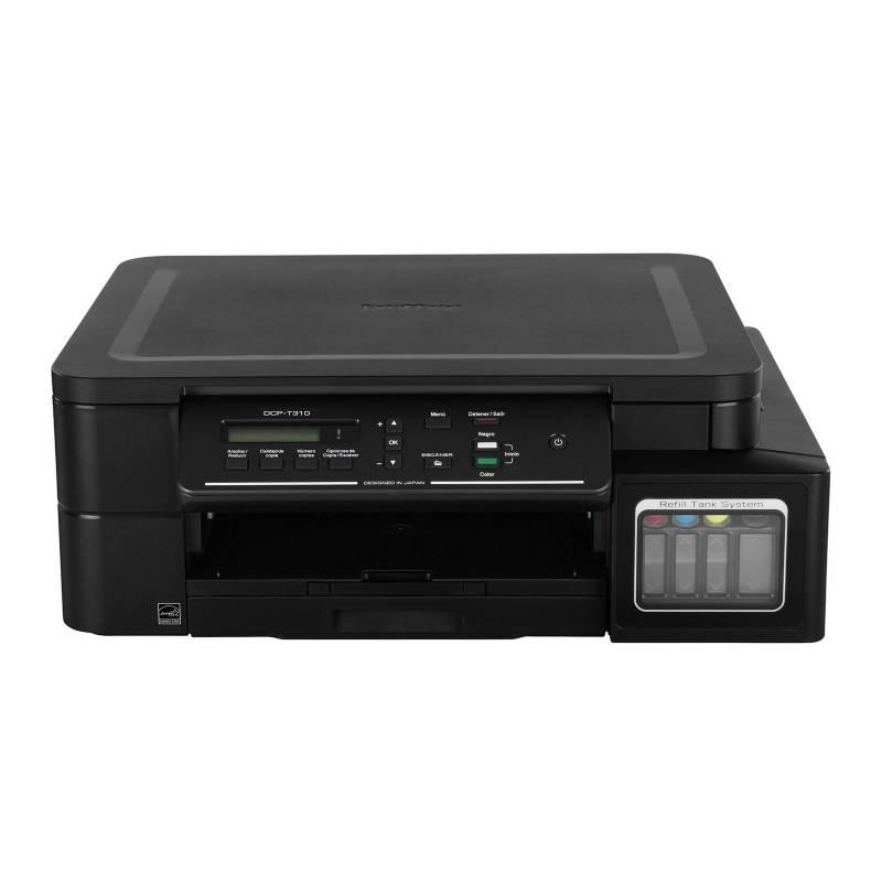BROTHER - Impresora Multifuncional DCP-T310 Negro