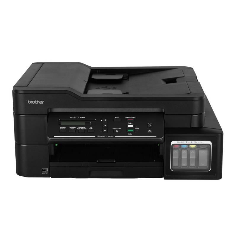 BROTHER - Impresora Multifuncional DCP-T710W Negro