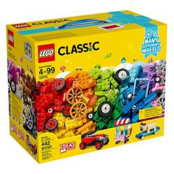 LEGO - Set Classic: Ladrillos Sobre Ruedas