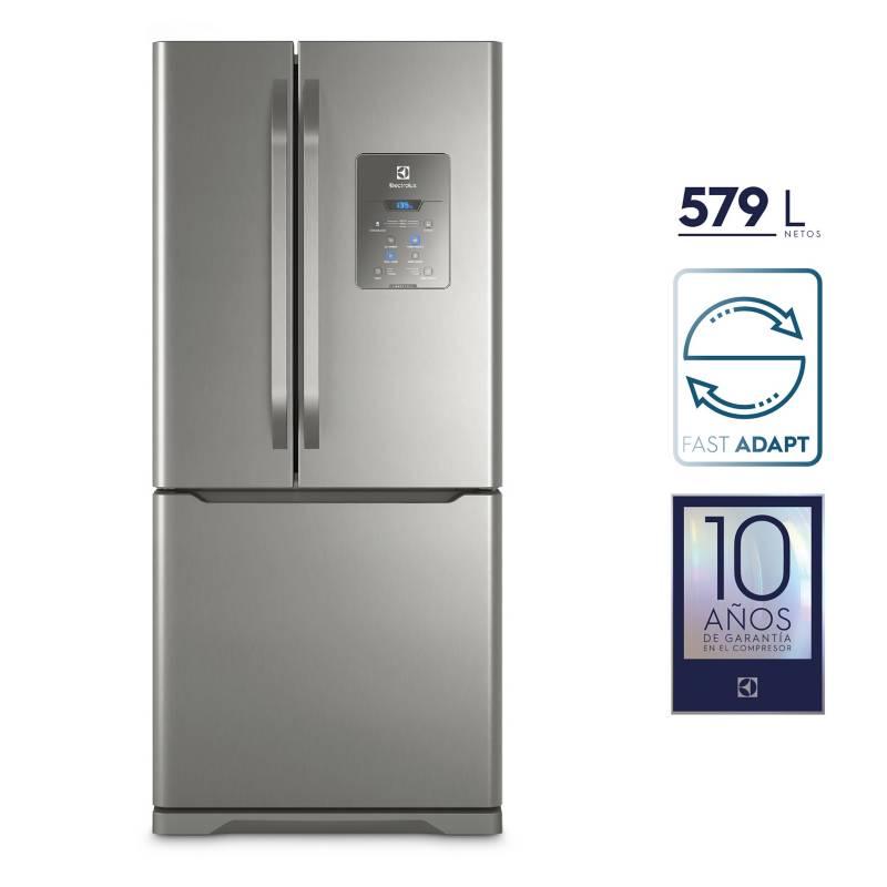 ELECTROLUX - Refrigeradora French Door 579 L DM84X Inox