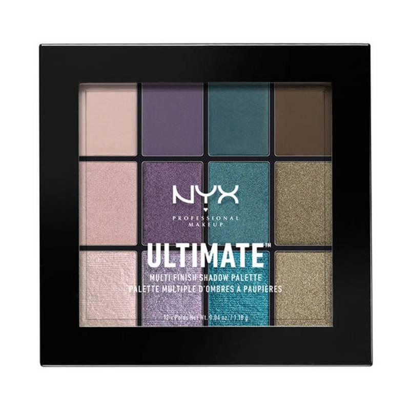 NYX Professional Makeup - Paleta de Sombras Ultimate Multi Finish