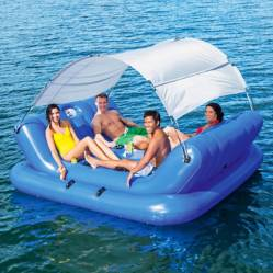 BESTWAY - Isla Inflable Rock Con Cooler