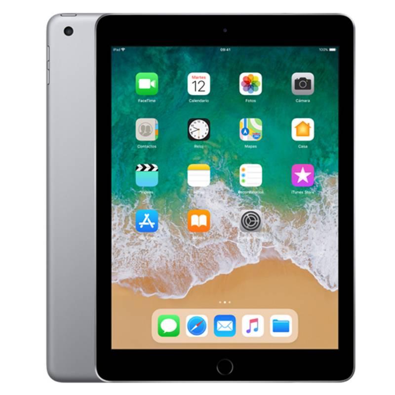APPLE - iPad WI-Fi 32 GB Silver 6ta Generación
