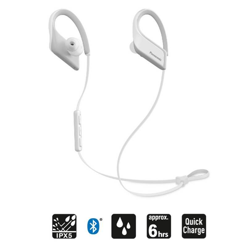 PANASONIC - Audífonos Bluetooth Deportivos BTS35 Blanco