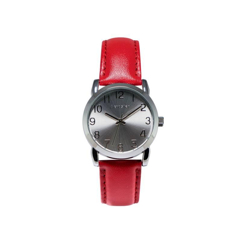 AEROSTAR - Reloj Mujer de Cuero importado