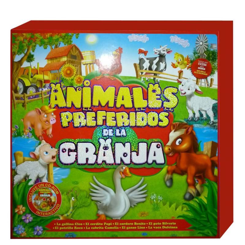 LEXUS - Animales preferidos de la granja - 8 libritos+cd