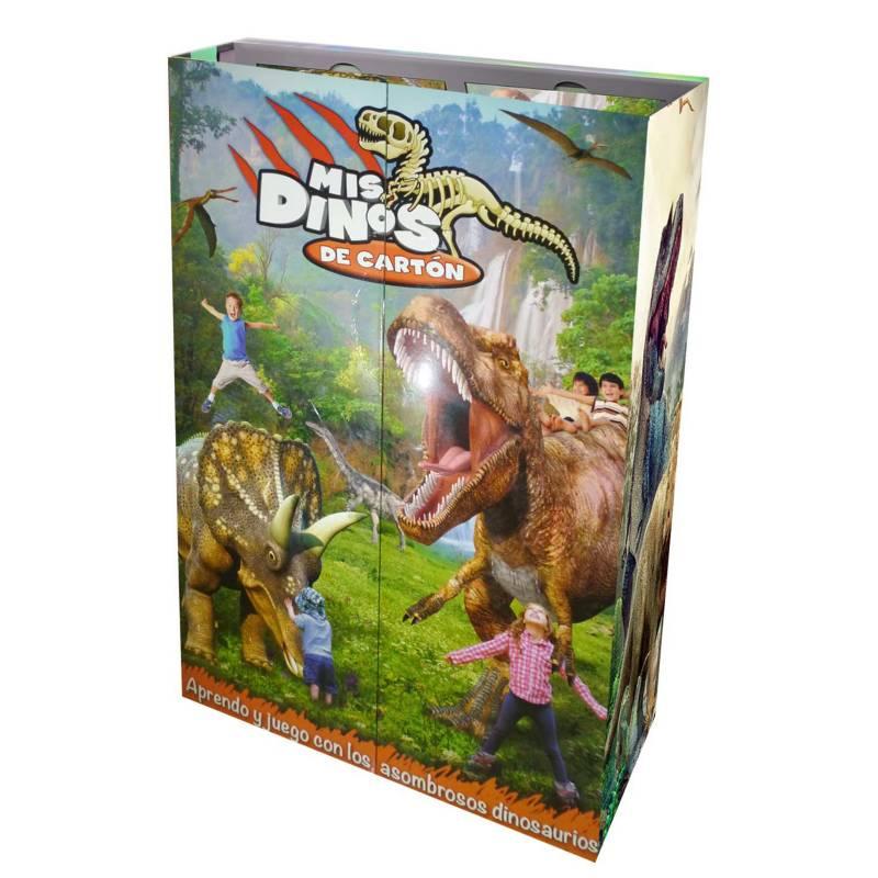 LEXUS - Mis dinos de cartón  - 6 libritos+dvd