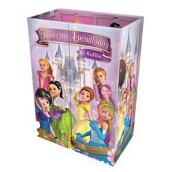 LEXUS - Princesas encantadas el castillo - 6 libritos+dvd