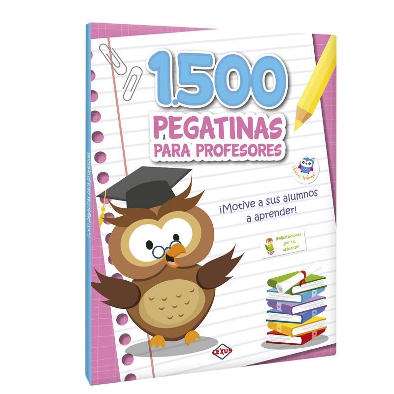 LEXUS - 1500 pegatinas para profesores adhesivos