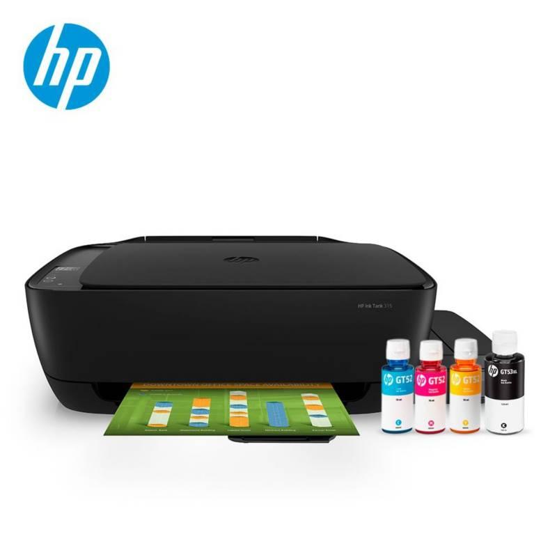 HP - Impresora HP Ink Tank 315
