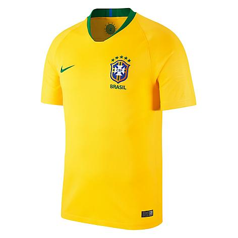 Camiseta de Fútbol Nike Brasil 2018 Stadium Local - Falabella.com e7b8a550f0e4c