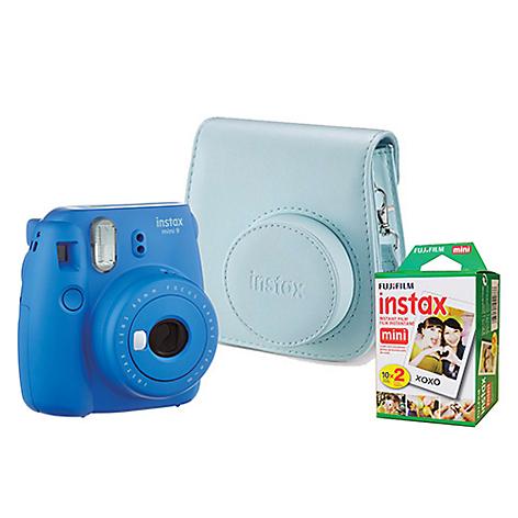 c320021414 Cámara Instantánea Fujifilm Instax Pack Mini 9 Azul - Falabella.com