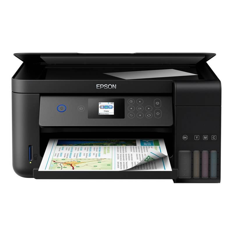 EPSON - Impresora Multifuncional Eco Tank L4160