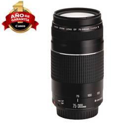 CANON - Lente para Cámara EF 75-300 f/4.-5.6 III Negro