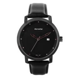 AEROSTAR - Reloj Hombre de Cuero