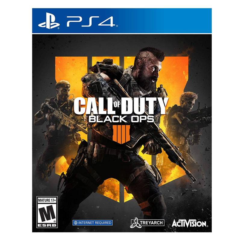 3RAS PARTES - Call Of Duty: Black Ops PS4