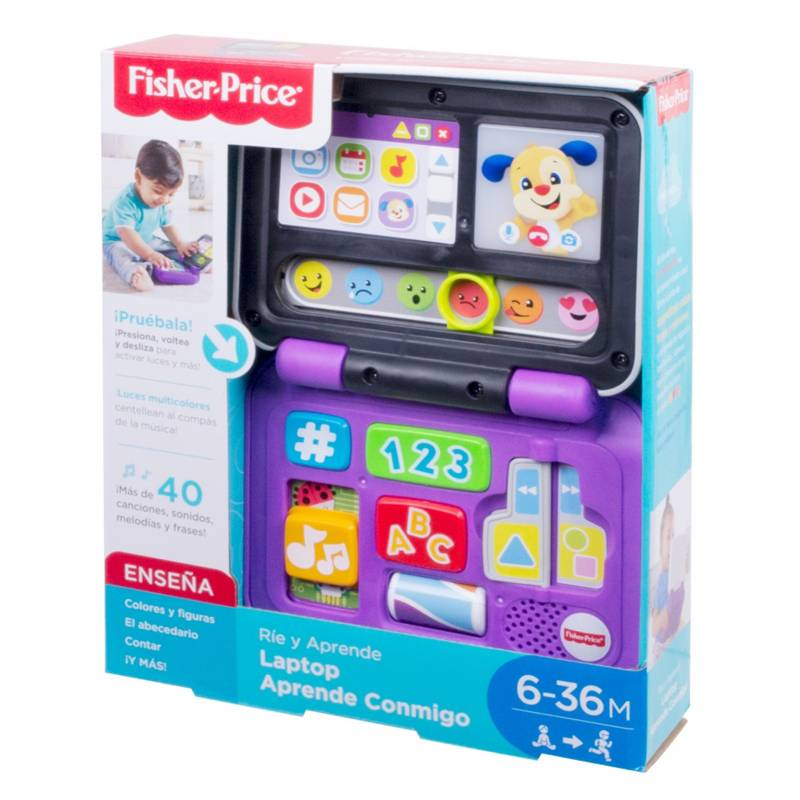 FISHER PRICE - Laptop Aprende Conmigo Rie Y Aprende