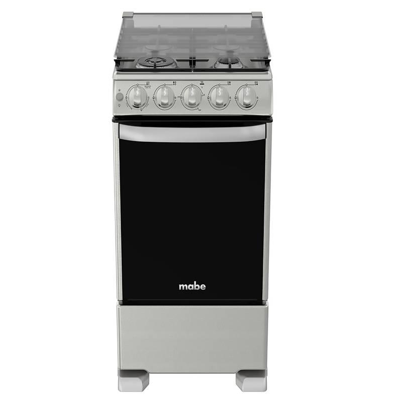 MABE - Cocina CME5060CFYX0 4 Quemadores Inox