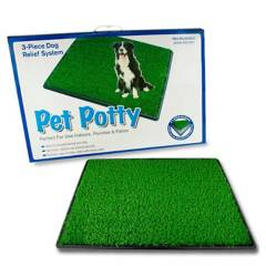 PETPOTTY - Baño Con Grass Petpotty Grande