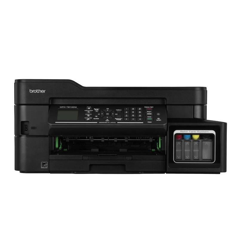 BROTHER - Impresora Multifuncional MFC-T910DW Negro