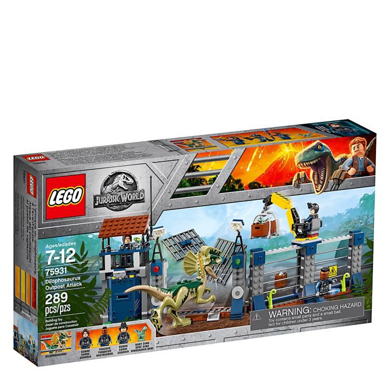 LEGO - Set Jurassic World: Ataque del Dilofosaurio