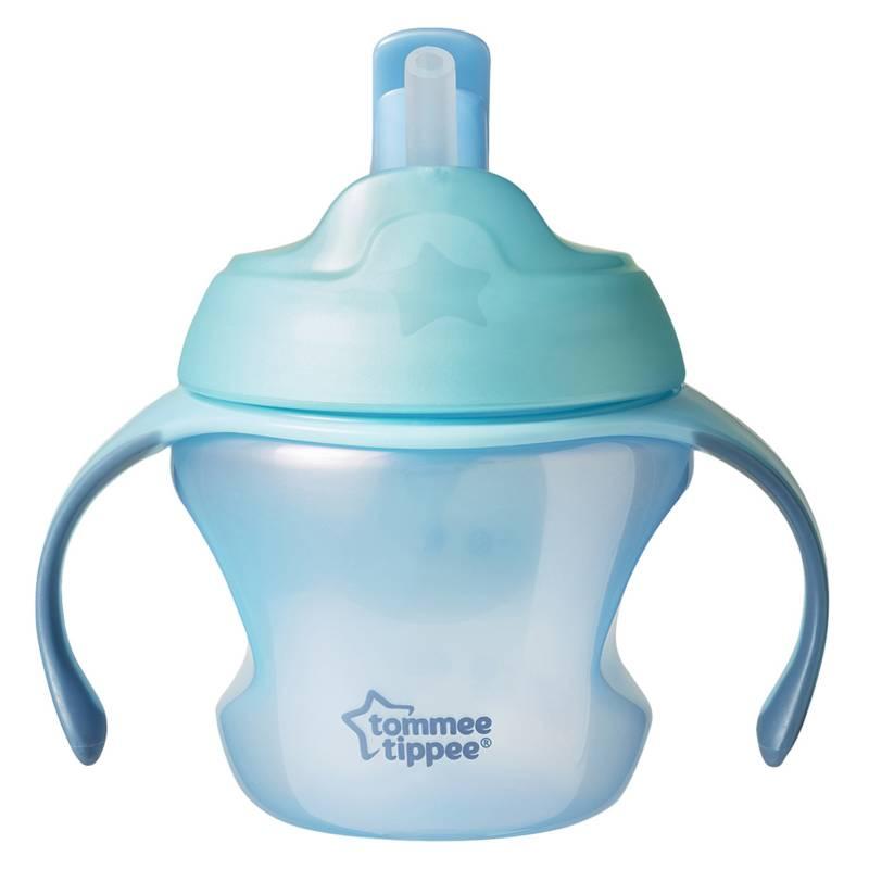 TOMMEE TIPPEE - Taza de Transición con Sorbete 5 oz Azul