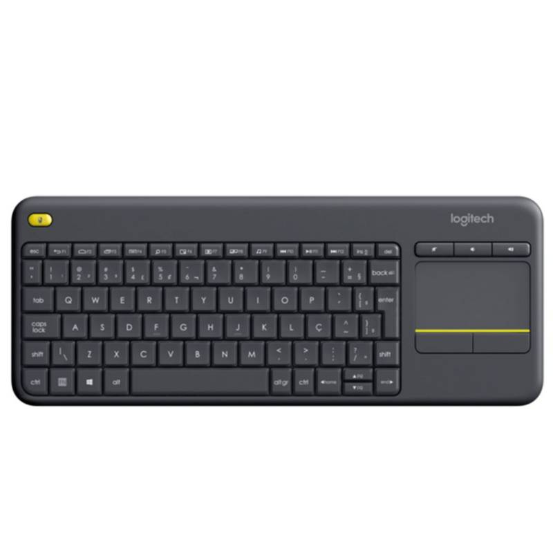 LOGITECH - Teclado Wireless Touch Keyboard K400 Negro