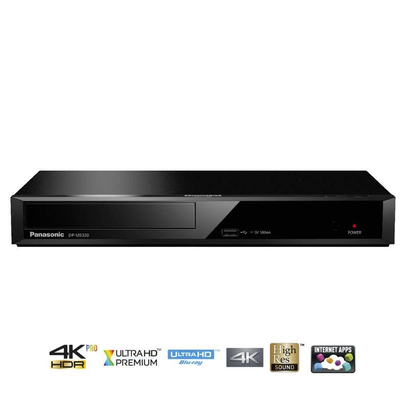 PANASONIC - Reproductor Blu-ray DP-UB320 UHD 4K