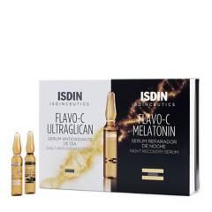 ISDIN - Isdinceutics Flavo C Ultraglican 10 Amp+ Flavo C Melatonin 10 Amp