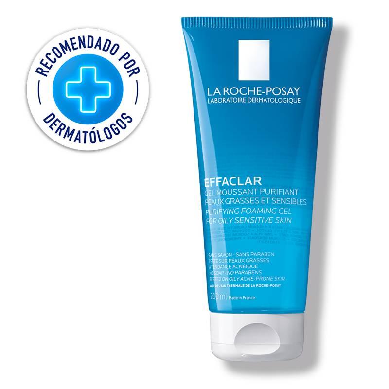 LA ROCHE-POSAY - Effaclar Gel Limpiador Facial Piel Grasa 200Ml