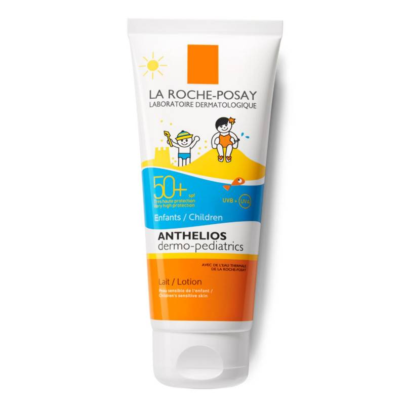 LA ROCHE-POSAY - Anthelios Dermopediatrico Protector Solar Leche Niños Spf50+  100Ml