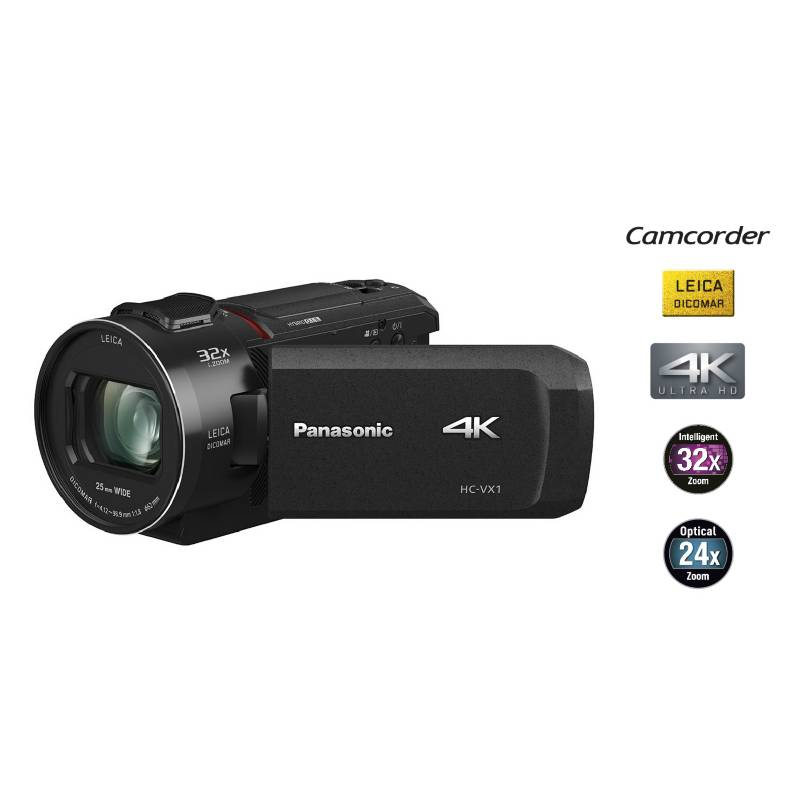 PANASONIC - Videocámara 4K Ultra HD VX1PP