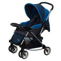 INFANTI - Coche Cuna Jersey Azul