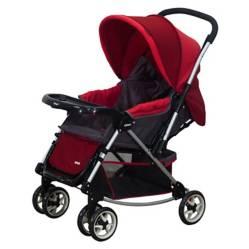 INFANTI - Coche Cuna Jersey Rojo