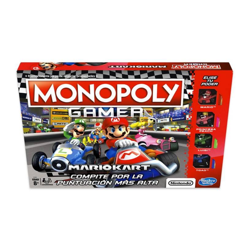 HASBRO GAMES - Monopoly Mario Kart Gamer