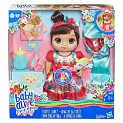 BABY ALIVE - Bebé Edición Especial Castaña