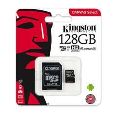 KINGSTON - Memoria Micro SD Kingston Canvas 128GB Clase 10 UHS-I