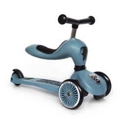 SCOOT & RIDE - Scooter-Bicicleta de Balance 2 en 1 Highwaykick Steel