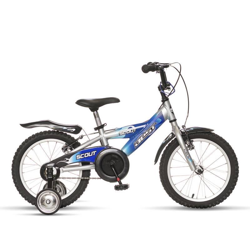 BEST - Bicicleta  de Niño Scout Alloy Aro 16 Azul