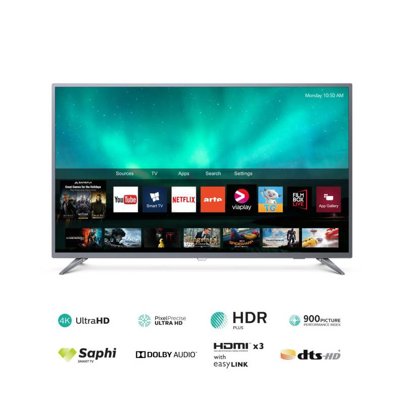 "PHILIPS - Televisor 50"" 4K UHD SMART TV 50PUD6513"