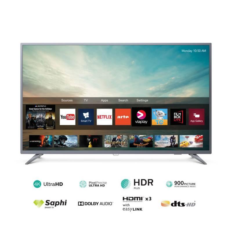 "PHILIPS - Televisor 58"" 4K Ultra HD Smart TV 58PUD6513"
