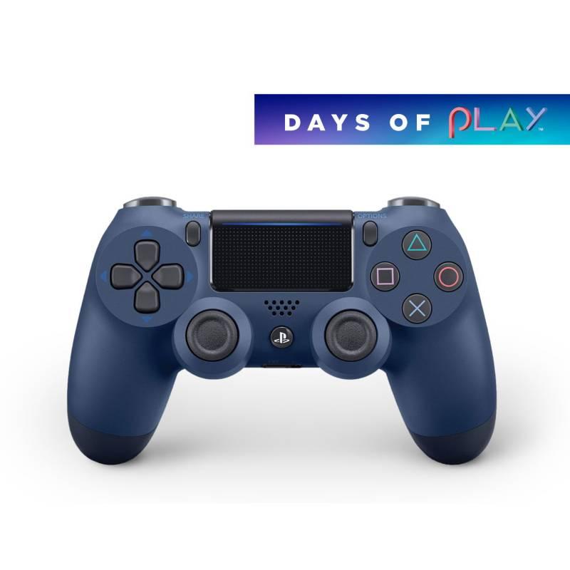 SONY - PS4 Acc Dualshock 4 (Cuh-Zct2u) - Midnight Blue - Latam Sony