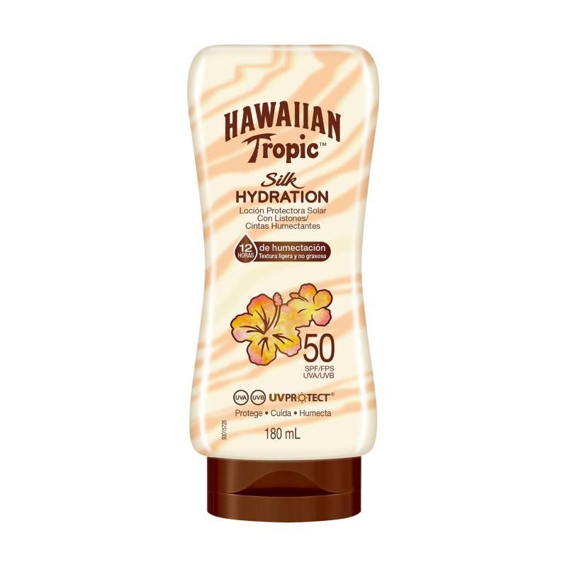 HAWAIIAN TROPIC - Silk Hydration Loción Protectora Solar FPS50 180 ml