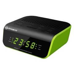 IMACO - Radio Reloj Despertador Verde