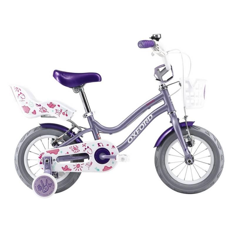 OXFORD - Bicicleta Infantil Niña Beauty Lila - aro 12